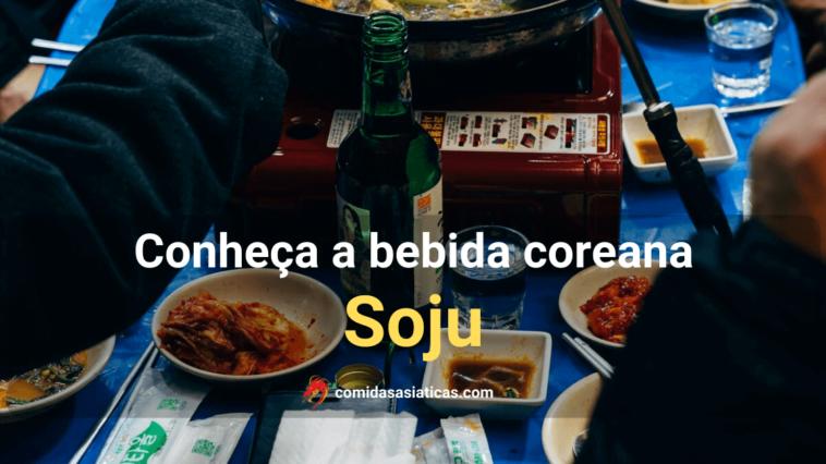 Soju bebida coreana