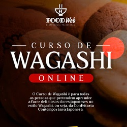 Curso online Wagashi - Doces japoneses