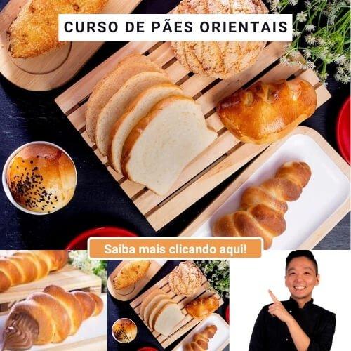 Curso Online de Pa~es Orientais com Chef Cesar yukio